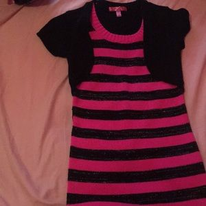 Other - Black and pink dress